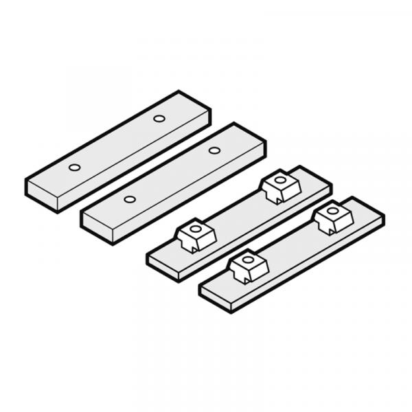 Weishaupt Montageschienenverbinder-Set WTS-F2