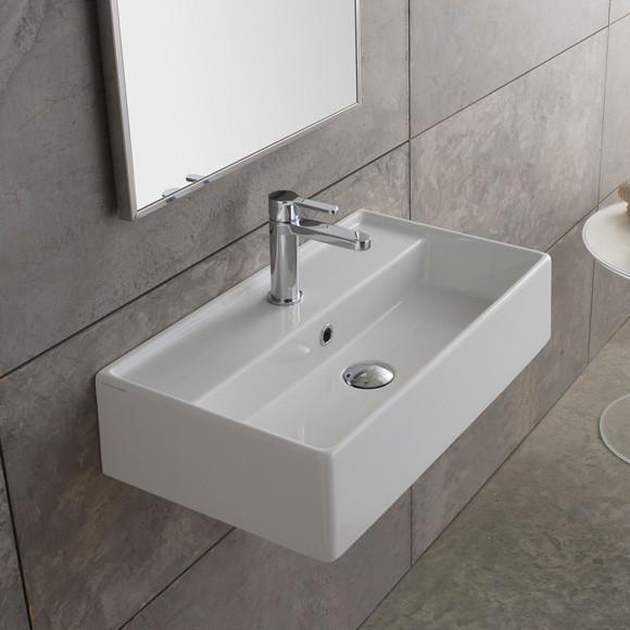 Scarabeo Teorema Aufsatz- oder Hängewaschbecken 41 x 35 cm