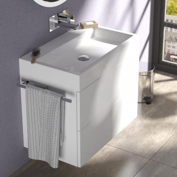 Treos Serie 910 Waschtisch mit Waschtischunterschrank mit 2 Auszügen