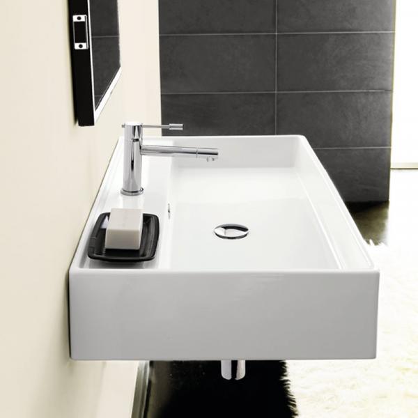 Scarabeo Teorema R60 Aufsatz- oder Hängewaschbecken weiß