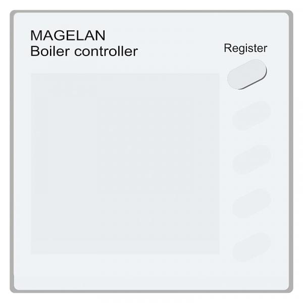 Blossom-ic A-3544 Kesselregler Magelan ohne Thermostat, 230V/AC