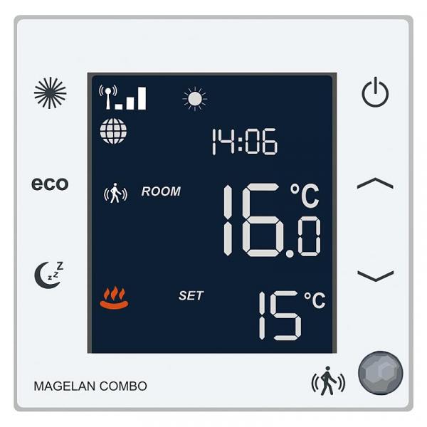Blossom-ic AC-3546 Raumthermostat Magelan Combo 230V/AC