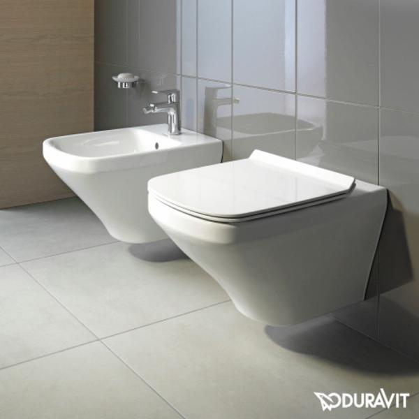 Duravit DuraStyle Wand-Tiefspül-WC rimless Set mit SoftClose WC-Sitz