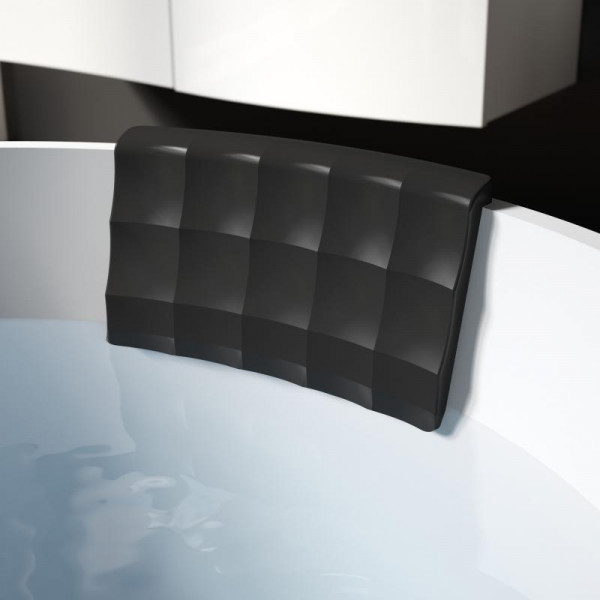 Riho Softgel Kopfkissen universal 25 x 16 cm schwarz