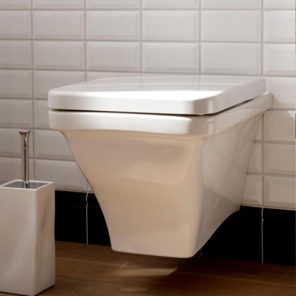Scarabeo Butterfly Wand-Tiefspül-WC weiß 52,5 x 36,5 cm