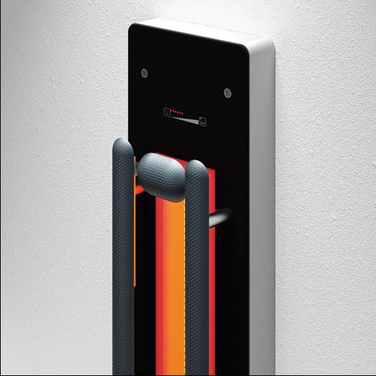 repaBAD Infrarotpaneel Palma mit Bluetooth