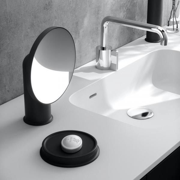 Cosmic Geyser Kosmetikspiegel schwarz