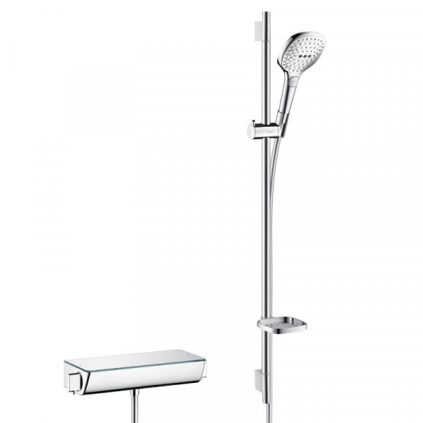 Hansgrohe Raindance Select E 120 Unica Combi 900 mm weiß-chrom