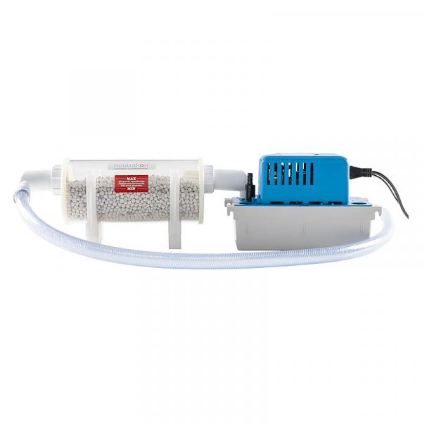 Neutralisator und Kondensatpumpe für Gas-Brenwertkessel im Set