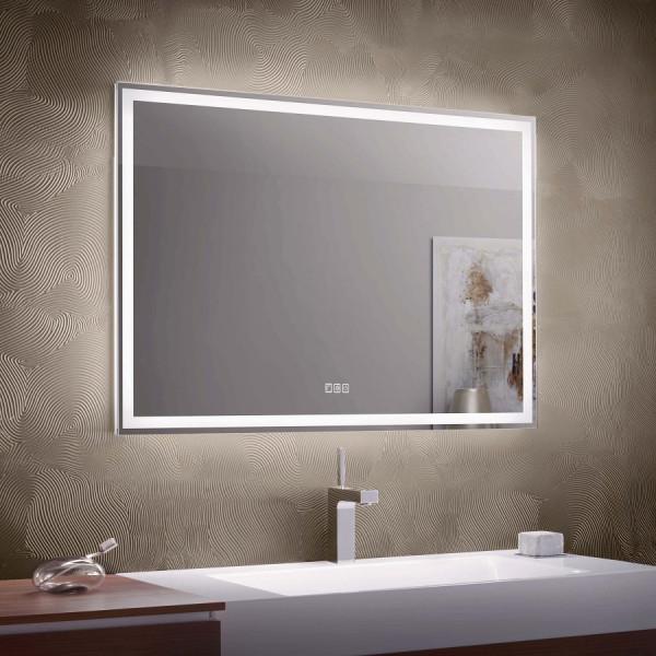Zierath Visibel Pro 2.0 Lichtspiegel mit LED-Beleuchtung und Easy Touch-Bedienfeld