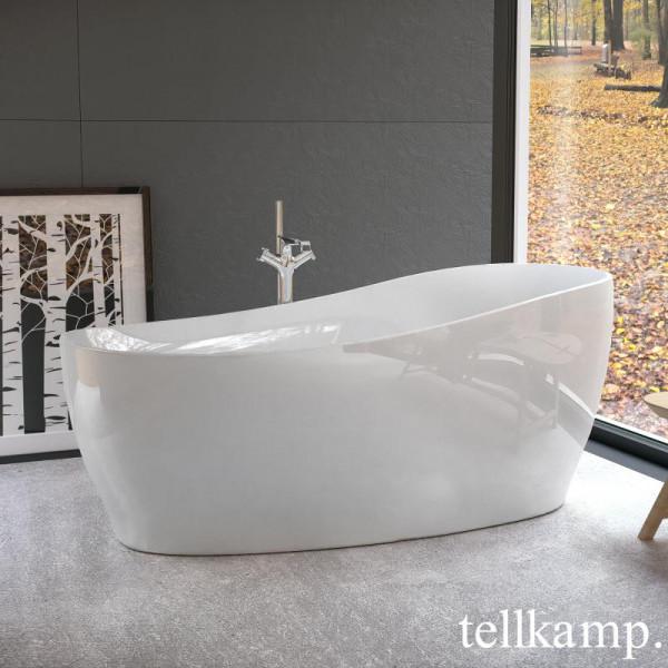 Tellkamp Sao Freistehende Oval-Badewanne 180 x 85 cm