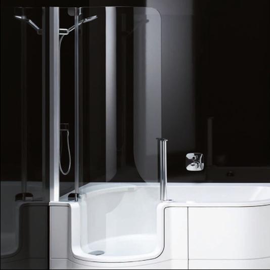 Artweger Twinline 1 Duschtür 192 cm für Duschbadewanne