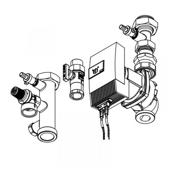 Viessmann Anschluss-Set 125-150kW