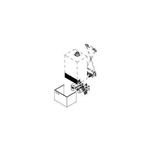 Viessmann Unterbau-Kit mit Mischer Vitodens 300-W