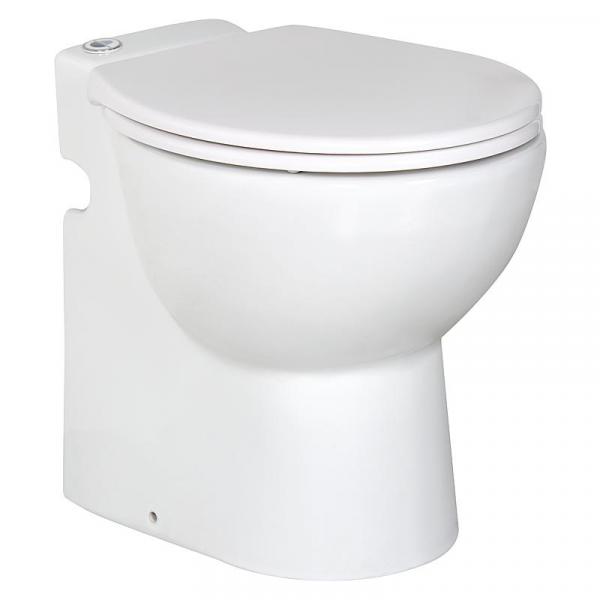 Lomac Gestolette 1010 Keramik Stand WC Toilette mit eingebauter Hebeanlage