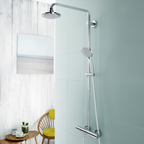GROHE Duschsystem Euphoria 180 mit Thermostat 450mm