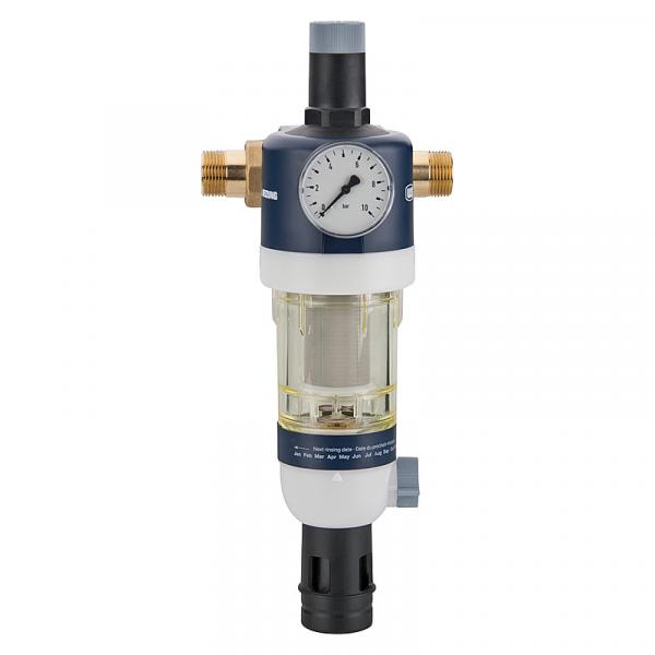 Hauswasserstation inkl. Anschlussstück+Manometer, DN25 (1)