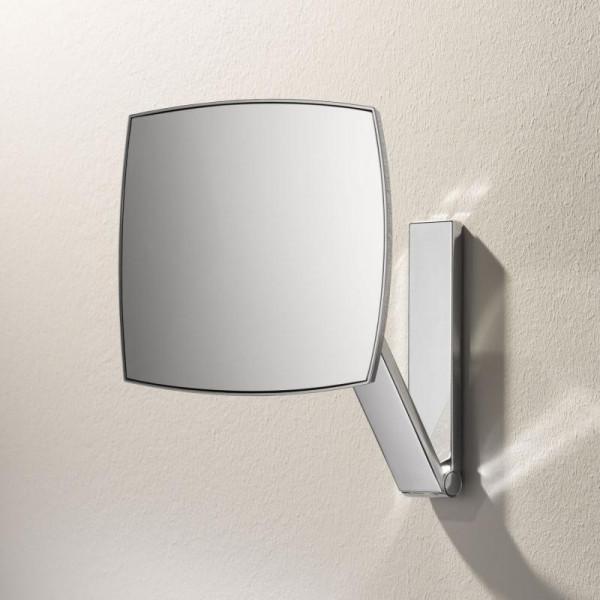 Keuco iLook move Kosmetikspiegel unbeleuchtet Wandmodell an Schwenkarm