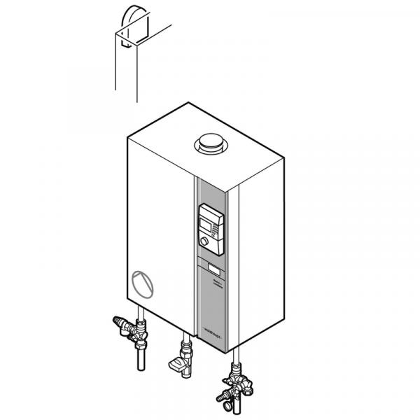 Weishaupt Paket WTC 45-A H Gas-Brennwertgerät