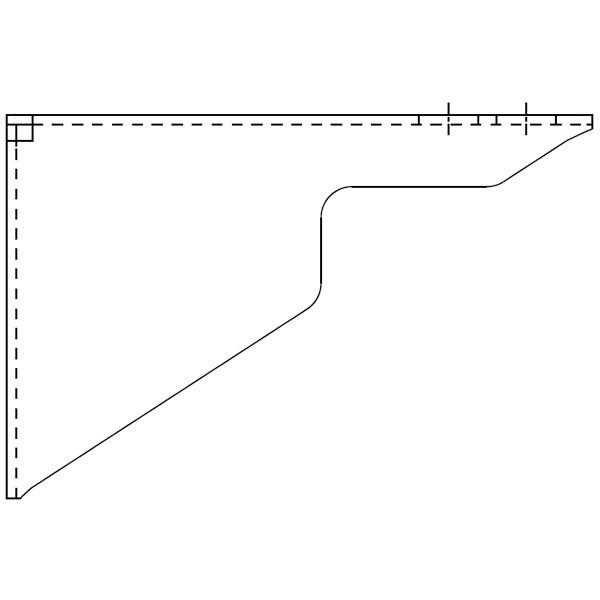 Viessmann Wandhalterung für Verteiler