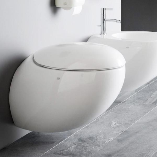 Laufen Alessi One Wand-Tiefspül-WC spülrandlos weiß mit Clean Coat