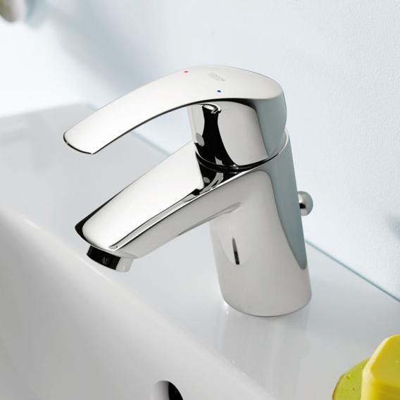 Grohe Eurosmart Einhand-Waschtischbatterie S-Size mit Ablaufgarnitur