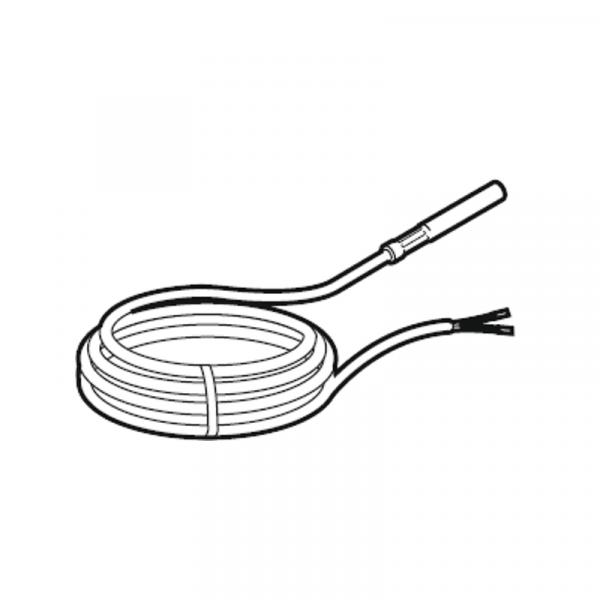 Weishaupt Temperaturfühler NTC 5k 2,5 m Puffer-/ Weichenfühler, mit Wärmeleitpaste