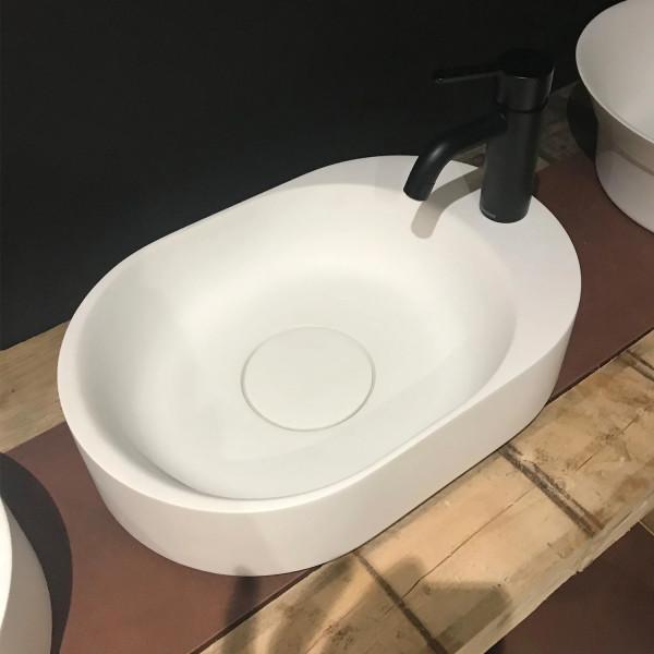 Riho Aufsatzwaschtisch Essence tray 48 x 32 cm aus Solid Surface