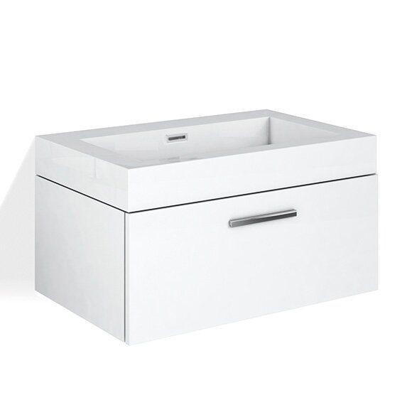 Treos Serie 900 Waschtisch mit Waschtischunterschrank mit 1 Auszug