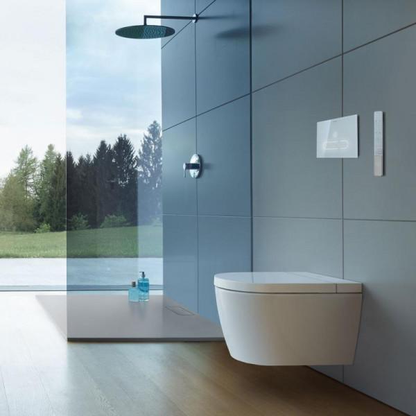 Duravit SensoWash® Starck f Plus Compact Dusch-WC Komplettanlage für Wandmontage, mit WC-Sitz