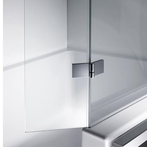 repaBAD Glasabtrennung für Easy-in 170 mit beweglichen Spritzschutz