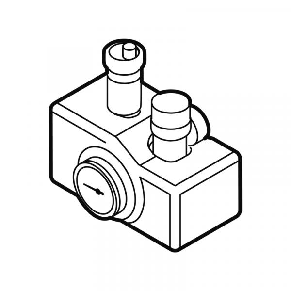 Weishaupt Kleinverteiler-Set Typ WHK 6.0 für WTC-OB