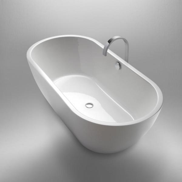 Repabad Livorno freistehende Oval-Badewanne 190 x 90 cm