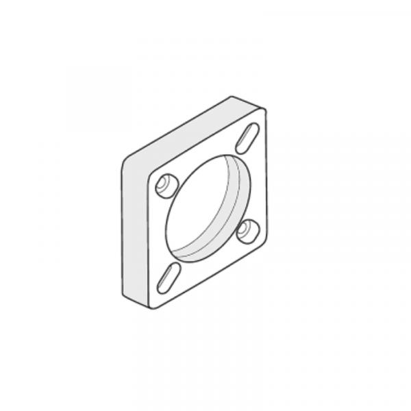 Weishaupt Zwischenflansch 30 mm WG10C und WG20C