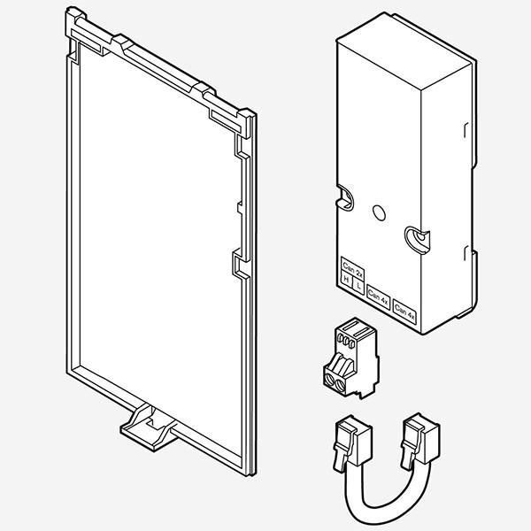 Weishaupt Adapter-Set WEM-CAN 2-Draht für WEM-RG2