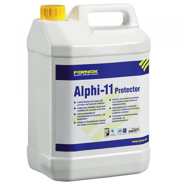 Fernox Zentralheizungsvollschutz Alphi-11 Frostschutzmittel und Protector 25 Liter