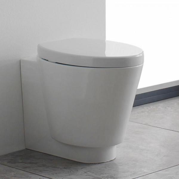 Scarabeo Wish Stand-Tiefspül-WC weiß 57 x 35 cm