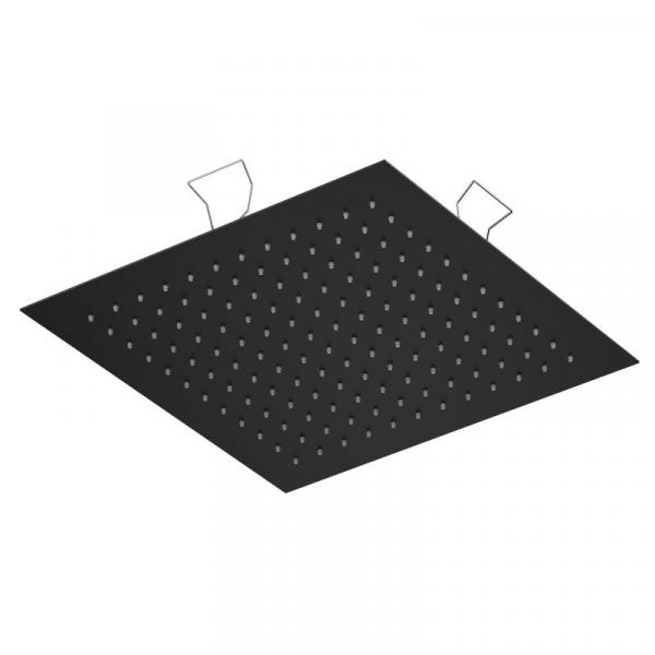 Treos Regenpaneel für Deckeneinbau schwarz matt 440 x 440 mm