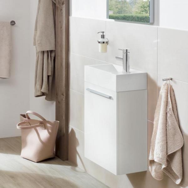 Treos Serie 900 Handwaschbecken mit Waschtischunterschrank mit 1 Tür