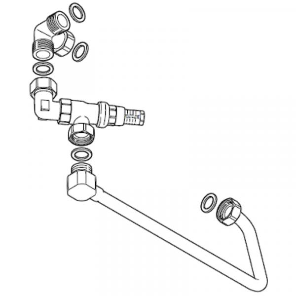 Weishaupt Differenzdruck-Überström-Set für WTC-GW 15/25-B, WHI con-heat 25 #1