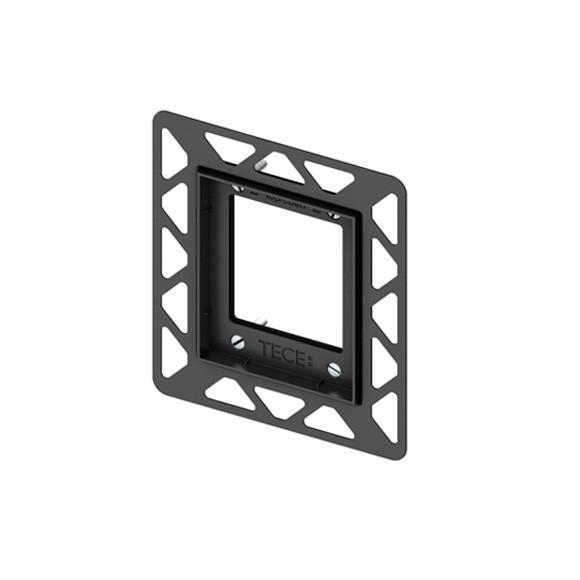 TECE loop / square Urinal-Einbaurahmen für flächenbündige Montage schwarz