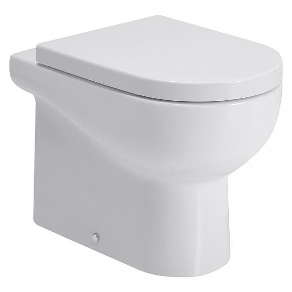 Azzurra Stand-Tiefspül-WC Nuvola 550x350 mm, spülrandlos, aus Keramik, weiß