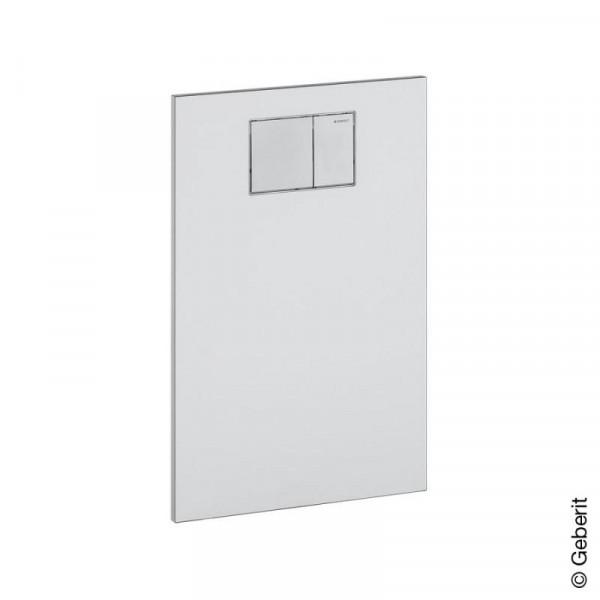 Geberit AquaClean Designplatte für WC-Aufsatz weiß-alpin