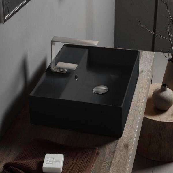Scarabeo Teorema 2.0 Aufsatzhandwaschbecken schwarz
