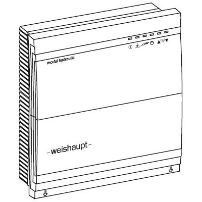 Weishaupt Erweiterungsmodul-Set WCM-EM 2.1 in Verbindung mit WCM-FS 2.0