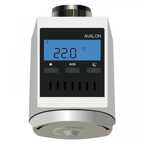 Blossom-ic C-3551 Funk-Heizkörperregler Avalon Batterieversion AA 1,5V