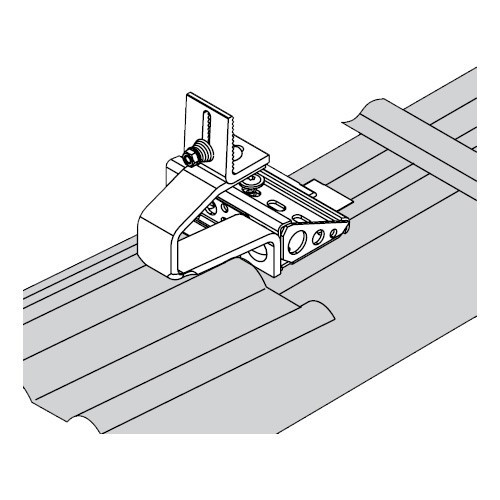 Viessmann Montagesatz Sparrenhaken SH horizontal 1,25 kN/m²