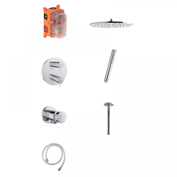 Damixa Eliza HS2 Unterputz-Duschsystem Thermostat