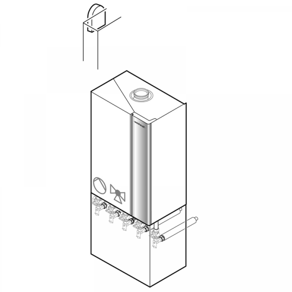 Weishaupt Paket WTC-GB 25-B S40-W Gas-Brennwertgerät