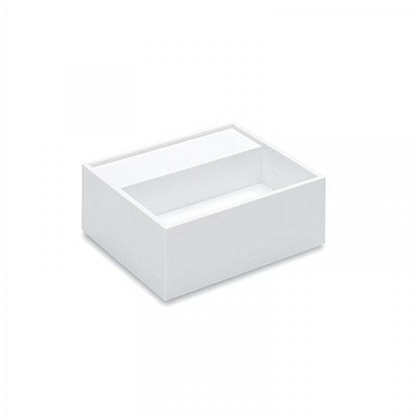 Cosmic Compact Waschbecken 32,5 x 32,5 cm weiß